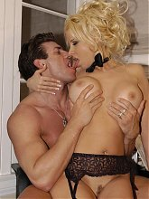 Kelly Erikson follows her boss into the office and gets bent over for doggy-style sex